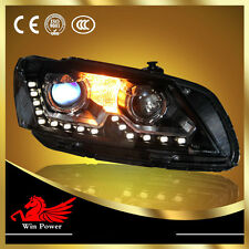 For American 2011-2014 Volkswagen Passat V6 B7 Xenon Headlights with LED DRL