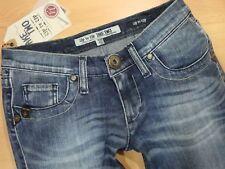 TAKE TWO Jeans  VIEW Str F21 ink denim  Used  Stretch  Blau  W26 L34  Gr. 34 NEU