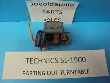 Technics Sl-1900 Power Transformer. Tested. Parting Out Sl-1900 Turntable.*