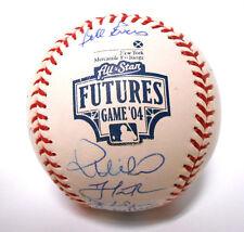 Goose Gossage Prince Fielder Matt Cain BJ Upton 04 Futures Signed Autograph Ball