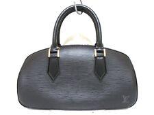 Authentic LOUIS VUITTON Epi Jasmin M52852 Noir Handbag TH0051 w/ Dust Bag