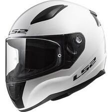 LS2 Helmet Bike Full-face Ff353 Rapid Mono Gloss White M