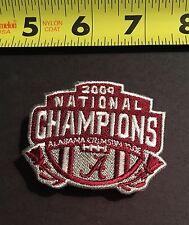 Alabama Crimson Tide 2009 National Champions Embroidered Logo Iron-On Patch BOGO