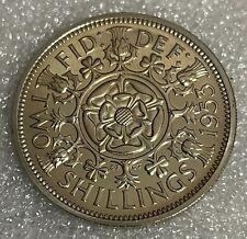 More details for stunning grade - 1953 proof gb florin two shillings  - elizabeth ii  #154
