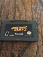 PAC MAN World 2 Nintendo Gameboy Advance GBA Cart