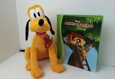 Kohls Cares MICKEY Mouse Book and PLUSH Pluto SET