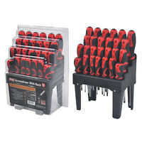 KING SCREWDRIVER SET with Stand 26-Piece Magnetic Tip Screw Driver Variety Pack