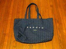Women's Sandro Paris Gemoetric Shape Royal Blue Tote Bag