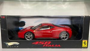 Hotwheels Elite 1/18 Ferrari 458 Italia Rare!!!