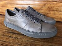 """Mens Frye """"Essex"""" Casual Fashion Sneakers Size 9 Brownish Gray Leather"""