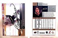 Teemu Selanne Signed 2009-10 Upper Deck #145 Card Anaheim Ducks Auto Autograph