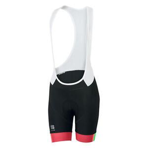 Sportful BodyFit Pro Bib Women's Cycling Bib Shorts Black/Pink Coral