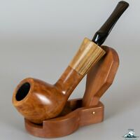 "Handmade Vallberg Old Briar ""Kf"" Smooth Apple Wood Insert (075) 9mm"