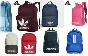 Adidas Originals Classic Trefoil Backpack School Gym Work Rucksack Bag Unisex