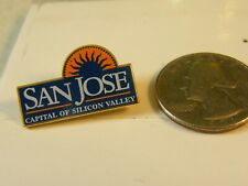 SAN JOSE CAPITAL OF SILICON VALLEY TRAVEL PIN