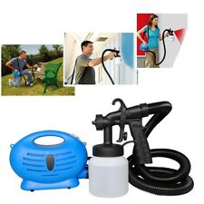 NEW ELECTRIC PAINT SPRAYER FENCE SPRAY GUN DIY TOOL PAINTING INDOOR OUTDOOR UK