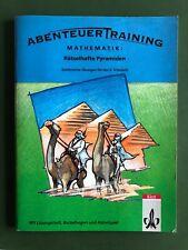 Abenteuer Training: Mathematik, Rätselhafte Pyramiden für Klasse 6, Klett-Verlag