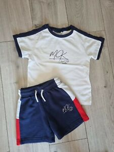 Boys MCKENZIE Summer Shorts & T-Shirt Set Outfit Age 3-4 Years