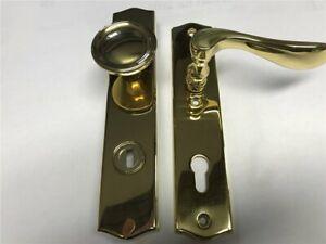 Jado Schutzgarnitur 973/922 Messing poliert,  92mm Kernschutz