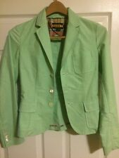 Rugby Ralph Lauren Blazer Jacket Pastel Green Size 0 NWOT AWESOME!!