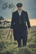 12x8 (A4) Photo Personally Autographed by Cillian Murphy & COA