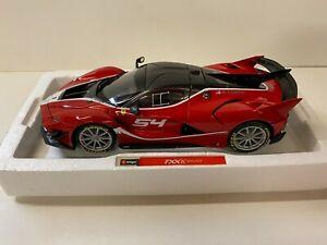 Ferrari FXX-K Evo, #54 rot, Bburago Signature Series 1:18 Modell
