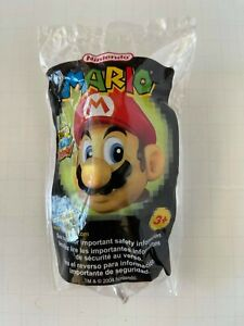 """Nintendo Super Mario Plush 2004 Wendy's Kids Meal Limited Edition 5"""" Toy RARE"""