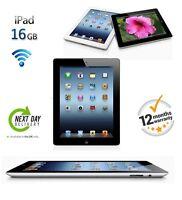 "Apple iPad 3 16gb PANTALLA RETINA 3º generación Wi-Fi Negro LIBERADO 9.7"""