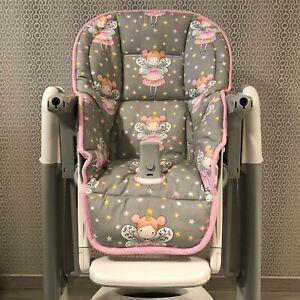Cotton Peg Perego Tatamia Highchair Seat Pad Cover Cushion
