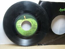 Old 45 RPM Record - Apple 1873 - Paul McCartney & Wings - Band on the Run / Nine
