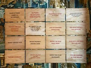 JENNY HOLZER Truisms Postcard Expanded 3rd EDITION COMPLETE SET : 2018-2021