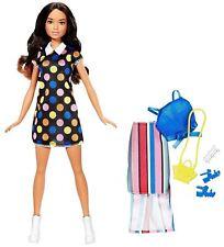 Barbie Teresa Fashionistas Doll W/ Fashions Outfits Shoes Gift set New