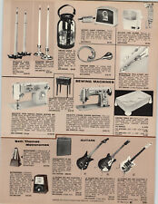 1969 PAPER AD Teisco Del Rey Electric Guitar 1 2 3 Check Mate Amplifier