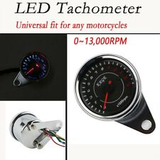 13,000RPM Motorcycle LED Tachometer For Honda VTX1300 R C S T 1800 C F N R RETRO