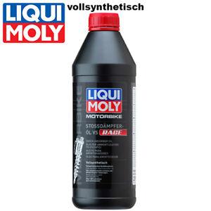 Liqui Moly Motorbike Stoßdämpferöl 20972 vollsynthetisch 1Liter Stossdämpfer oil