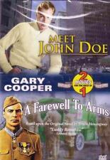 Meet John Doe / A Farewell to Arms (DVD, Region Free) Usually ships in 12 hrs!!!