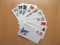 10 x China First Day Covers; 1993. See Pics for Info.