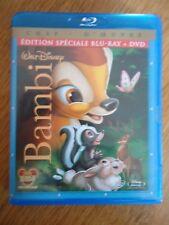 BLU-RAY ** BAMBI ** + DVD DISNEY Version Française bluray