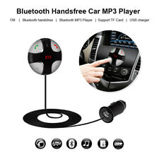 1pc Wireless Car Bluetooth 3.0 Fm Transmitter Mp3 Player Radio Usb Charger Bk/Gy(Fits: Charger)