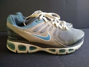 Nike Air Max Tailwind 2 Running Shoes Grey Blue 386409-004 womens size 8 rare