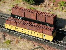 Hay Bros BOXCAR DOORS & BARRELS (Half-Height) LOAD - Fits Micro-Trains 50' Gons