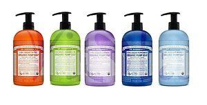 Dr. Bronners Organic Moisturising Shikakai Vegan Hand Soap 709ml UK Seller