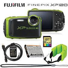 Fujifilm FinePix XP120 Shock & Waterproof Wi-Fi Digital Camera Bundle