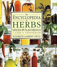 The Encyclopedia of Herbs, Spices, and Flavorings by Elisabeth Lambert Ortiz