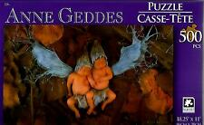 """2015 Anne Geddes Puzzle Fairy Babies 500 Pieces 18.25"""" X 11"""" NEW #TY09"""