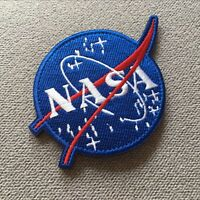 Embroidery USA Space Administration Program Hook Loop Patch Emblem Badge armband