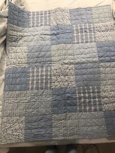Zara Home Cot Patchwork Quilt 100cmx120cm In Excellent Conditions