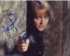 JODIE FOSTER Signed THE BRAVE ONE ERICA BAIN Photo w/ Hologram COA