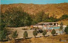 1960s Frontier Town EL CAJON Amusement Park TEICH Postcard 662