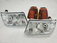 2001 - 2011 Ford Ranger Direct Replacement Headlight Set Clear Lens